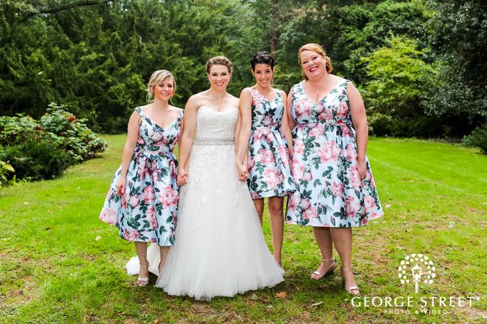 jewish wedding photos awbury arboretum philadelphia